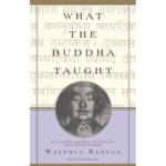 Rahula, Walpola - What the Buddha Taught 512px