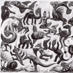 Jigsaw puzzle - Escher